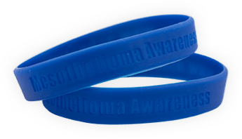 Mesothelioma Support Wristbands