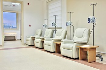 Chemotherapy infusion room