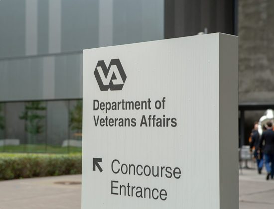 Department of Veterans Affairs (VA) sign