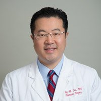 Dr. Jay M. Lee, surgical director at the UCLA Center for Esophageal Disorders