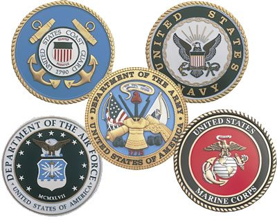 Seals of U.S. Military Branches