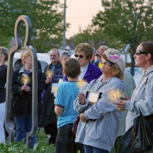 Memorial for mesothelioma patients who passed away
